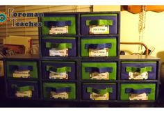 Monday Made It:  Supply Drawers, Mentor Text Buckets, Binder, and Just For Fun!
