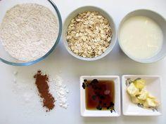 Zutaten für vegane zuckerfreie Haferkekse #rezept #vegan Food, Oat Cookies, Vegan Baking, No Sugar, Simple, Food Food, Meal, Eten, Meals