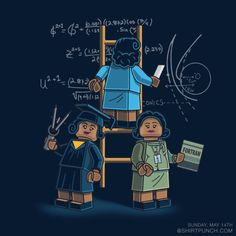 Math Women by Pacalin  /  want it on a WHIM.