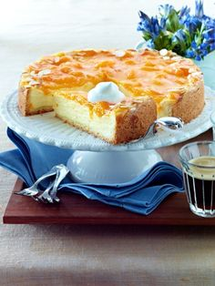 Mandarinen-Schmand-Kuchen
