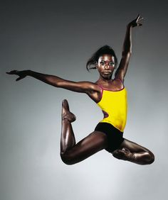 'I couldn't find one black woman working in ballet and that stunned me. I decided to do something about it myself.' - Cassa Pancho