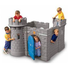 casita de jardín castillo para niños Little Tikes en El País de los Juguetes
