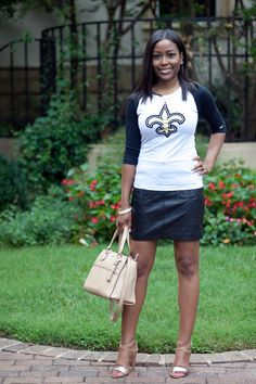 Game Day Style :: Blitz And Glam