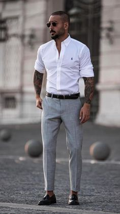 Mens Smart Outfits, Mens Casual Dress Outfits, Formal Men Outfit, Casual Dresses, Casual Attire, Formal Wear, Stylish Outfits, Trendy Mens Fashion, Mens Fashion Suits