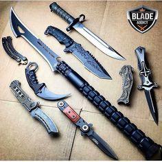 Ninja Weapons, Weapons Guns, Swords And Daggers, Knives And Swords, Survival Weapons, Survival Gear, Tactical Knives, Tactical Gear, Armas Ninja