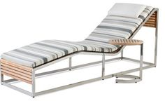 Link Design Solutions - Echo chaise lounge and table