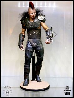 """PUNCH CUSTOMS PRESENTS ELVIS1976 & FRIENDS CUSTOM FIGURE SHOW, NYC, JANUARY 10, 2015: WEZ FROM """"MAD MAX THE ROAD WARRIOR"""" BY ELVIS1976"""
