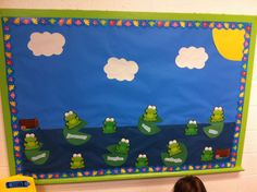 frog bulletin board sayings - Google Search | Hall ...