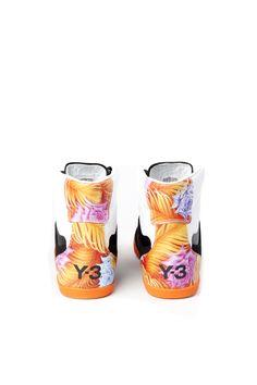 Y-3 Yohji Yamamoto - Honja High Top Sneaker Black//