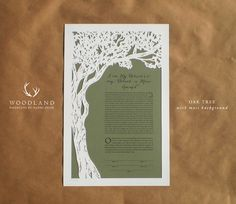 https://www.etsy.com/listing/197644549/papercut-ketubah-wedding-vows-oak-tree?ref=related-4
