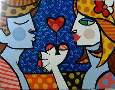 Ócio Criativo: Romero Britto o novo Picasso?