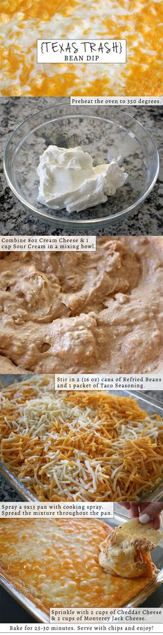 I'm so in awe of how good this recipe is! My fiancé Spiro (who doesn't even like beans) was standing next to me eating it at a rapid pace last night. I cannot get enough of this dip, make it ASAP, you have the whole weekend to eat it!