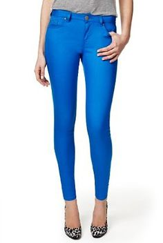 Limited collection M jeggings - cool colour update