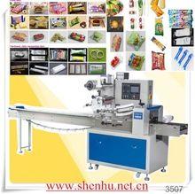 shenhu horizontal flow pack machine for cake