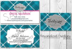 Business Card Bundle made for Thirty-One Gifts - Fall 2016 Inspired by Sweetcrystal135 on Etsy