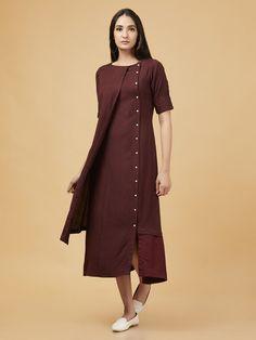 cotton linen or modal 14 meter plain fabric. Kurta Designs Women, Blouse Designs, Salwar Designs, Kurti Patterns Latest, Latest Kurti Designs, Cotton Gowns, Cotton Linen, Western Dresses For Women, Indian Western Dress
