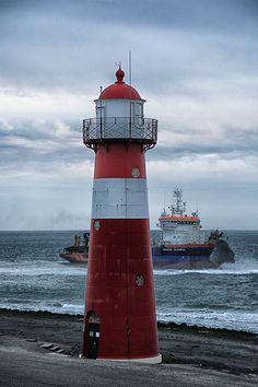 Westkapelle Laag Noorderhoofd Lighthouse, Westkapelle, Netherlands