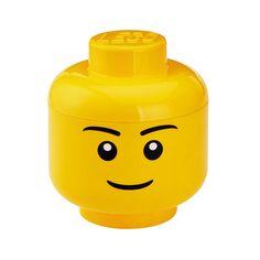 Articolo: RCLSHLYLBContenitore in plastica di Lego di colore giallo, utilissimo per conservare alimenti in generale. Anche per prodotti altamente funzionali, come questo, il design, i materiali e la forma sono importanti per regalare una nota di unicità ai prodotti che mettiamo nelle nostre cucine. Contenitore grande a forma di testa con disegno faccia d'uomo. Sono senza BPA e PVC. Si consiglia di lavarlo a mano. Sorprendi la tua famiglia o i tuoi amici abbinando funzionalità e originalità…