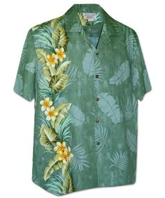 Matched Pocket Hawaiian Shirt Relaxed Fit Kahala Sportswear Blue Lagoon