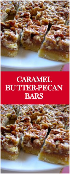 Caramel Butter-Pecan Bars – Fresh Family Recipes