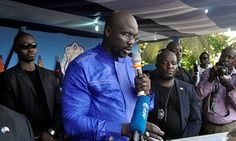 George Weah confirms second attempt to be elected as Liberian president