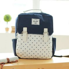 I am so happy to find the Fresh Mori Girl Mixed Colors Star Pattern Hasp Travel School Backpack from ByGoods.com. I like it <3!Do you like it,too?