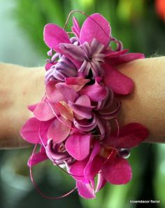 Orchids wrist corsage Bloem Decor Florist, pretty in lieu of bouquet Flower Corsage, Wrist Corsage, Prom Corsage, Boutonnieres, Bridesmaid Flowers, Wedding Flowers, Mother Of The Bride Flowers, Bear Wedding, Flower Delivery Service