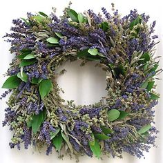 Herbal wreaths are one of my favorites and can bring the rich aromas of Summer into your home all year round!