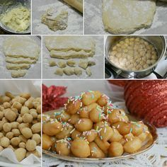Trucchi per STRUFFOLI PERFETTI ed errori da evitare Italian Pastries, Italian Dishes, Italian Recipes, Mini Desserts, Christmas Desserts, Just Desserts, Sweet Recipes, Cake Recipes, Dessert Recipes