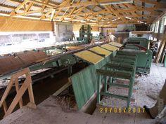 Tartak oparte Kapelusznik wydajność OK 70-90 m3 kłód w przesunięciu 8-godzinnym - Kupuj na www.bizator.com