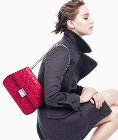 Jennifer Lawrence Models Miss Dior Handbags for Fall 2013 Campaign