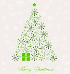 Christmas Tree Clipart | Abstract Christmas Tree Vector | Free Vector Graphics | All Free Web ...