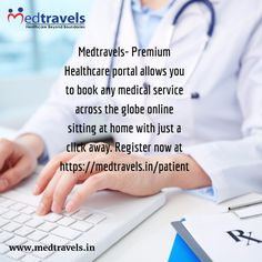 Find a doctor & healthcare providers and book any medical service online. Find specialists near you and access phone number, contact details and address location. Find the best physician near you for best care and hospitality. Medtravels- Premium healthcare portal allows you to book any medical service across the globe online sitting at home with just a click away. Register now at https://medtravels.in/patient and discover the additional value added services of a premium online medical…