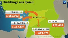 Grafik: Flüchtlinge aus Syrien