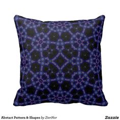 Abstact Pattern & Shapes Throw Pillows