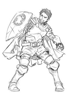 Fanart :Eric - Dungeons and Dragons by loboborges.deviantart.com on @deviantART