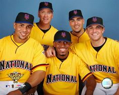 2006 All-Star, with teammates. What a crew!