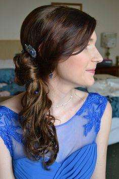 Curled Wedding Hair, Short Wedding Hair, Curl Styles, Short Hair Styles, Wedding Hairstyles Half Up Half Down, Up Hairstyles, Wedding Makeup, Curls, Beauty