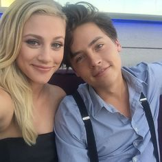 Lili, Cole. They are so CUTE! I can even see a relationship in real life.