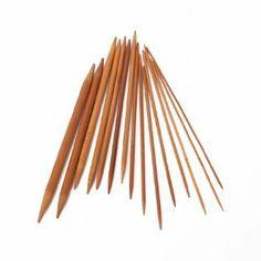 "15 Sets 7.87"" Bamboo Knitting Needles Double Pointed US 0-15: Amazon.co.uk: Kitchen & Home"