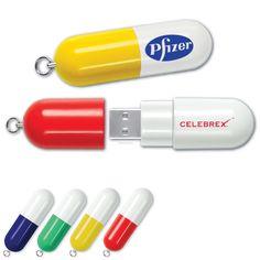 Pill Shaped USB Drive...