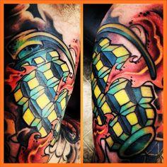 #tat #tattoo #ink #tattoolife #inkedup #ink #art #pain #fit