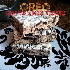 Sisterhood of the Traveling Recipes: Oreo Rice Krispies Treats