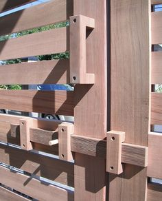 wooden gate latches - Google Search