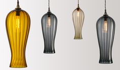 FLODEAU.COM - Handblown Glass Lighting by Rothschild Bickers 15