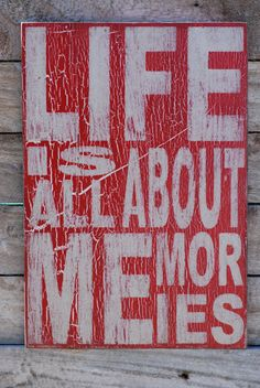 Sign made from reclaimed wood. love the saying