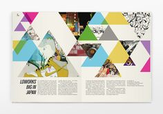 Graphic Design — Editorial & Publications / Six Pockets Magazine — Designspiration