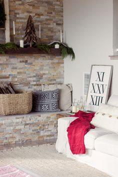 Christmas Home Tour Part 1 | Jenna Sue Design Blog