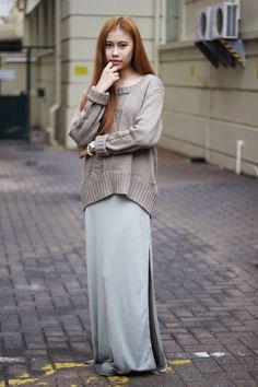 Jody from Silky Bow in the Soho Shredded Knit