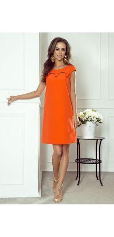 Sukienki wieczorowe - Kolekcja wiosenna    Sukienka z paskiem Dresses For Work, Fashion, Womens Fashion, Moda, Fashion Styles, Fashion Illustrations